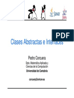 Clase Abstract a Interface
