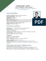 Resumen Curiculum Vitae Duglas Leon