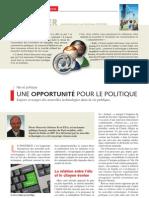 Dossier Reseaux Sociaux Web 20 - Revue L'ingénieur, Centrale Lille