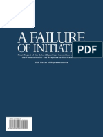 A FAILURE of INITIATIVE Final Report of the Select Bipartisan Committee to Investigate the Preparation for and Response to Hurricane Katrina (US Congress 2006)