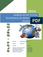 Analisis de Adam Smith y David Ricardo