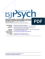Clinical Recognition and Recording of Alcohol Disorders by Clinicians in Primary and Secondary Care_ Meta-Analysis
