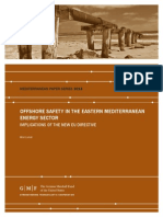 Offshore Safety in the Eastern Mediterranean Energy Sector