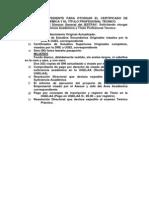 11º Para El Expediente Para Otorgar El Certificado de Suficiencia Académica y El Título Profesional Técnico