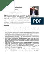 Amitabh Bhattacharjee Profile