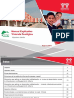 Manual Explicativo Ecotecnoligas Infonavit