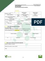 Anexo 1. Inscripcion Del Prestador Al Servicio Social EJEMPLO
