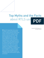 RTLS Myths vs Facts Ekahau 2013 Letter