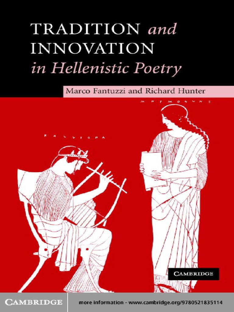 30fa8a598e8b0 Hellenistic Poetry Fantuzzi  Hunter   Poetry   Plato