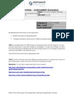 grade 6 unit 2 formative - investigate criteria a