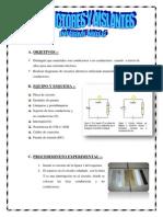 Conductores y Aislantes-Informe Nro6