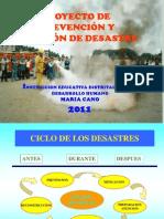 lanzamientodelproyectodeprevenciondedesastre-120225134952-phpapp01