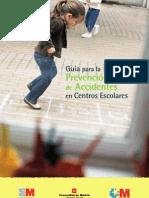 Guía Para La Prevención de Accidentes Escolares (Comunidad de Madrid)
