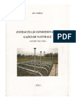Extractia Si Conditionarea Gazelor Naturale