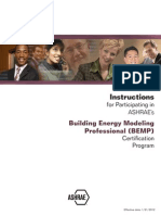 Building Energy Modeling Professional Long