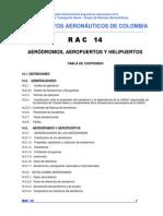 RAC 14 - Aeródromos, Aeropuertos y Helipuertos