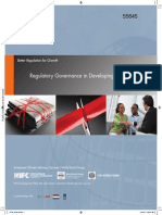 Regulatory Governance in Developing Countries World Bank Report