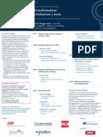 Agenda Convegno HR Innovation Practice 2014