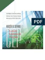 Medição de Software e Controle Estatístico de Processo