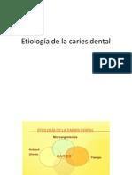 Etiologia de La Caries Dental