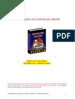 Secretele Unui Milionar in Dolari Pe Internet