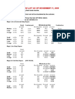 17384294 Updated Diaper Prices NOV 11 2009