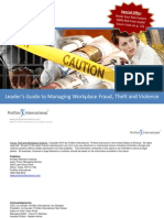 Leaders Guide to Managing Workplace Fraud_Theft and Violence