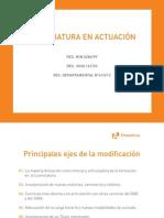 2013 Ad Plan de Estudios Actuacion 2013