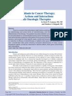 Antioxidants Cancer Part1