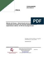Resistencia a La Compresion-norma Ntg 41003 h4 Astm c109-c109m -11 b