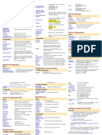 LINUX Administrator's Quick Reference Card