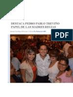 09-05-2014 ABC De Monterrey - DESTACA PEDRO PABLO TREVIÑO PAPEL DE LAS MADRES REGIAS.