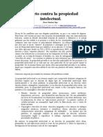 Óscar Sánchez Vega - Panfleto Contra La Propiedad Intelectual