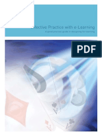 Effective Practice e Learning