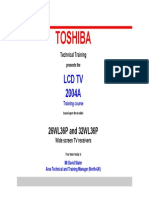 22277758 Toshiba TV LCD Training 32wl36p