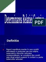 Determinarea Relatiei Centrice