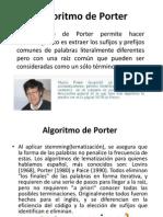 Algoritmo de Porter