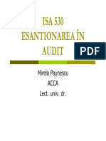 Suport Curs Esantionare audit