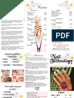 Nail Technology Prislista - Nagelvård Nagelförlängning 2011