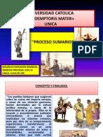Proceso Sumario - 150711