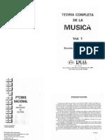 Teoria Completa de La Musica Vol 1