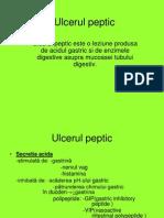 Ulcerul Peptic prezentare