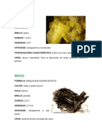 Fichas Minerales
