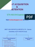 Talent Acquisition Talent Retention