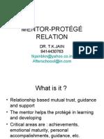 MENTOR-PROTÉGÉ RELATION