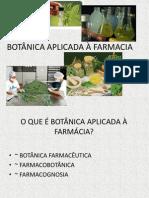 Introducao a Farmacobotanica
