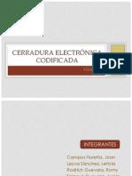 CERRADURA ELECTRÓNICA