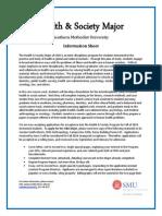Health & Society Interest Form (SMU)