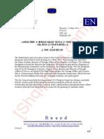 Raporti i këshillit të Stabilizim Asociimit për shqipërinë