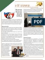 Boletin 127 Informe Misionero Chile Oct 09